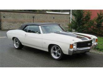 for sale: 1972 chevrolet chevelle in cadillac, michigan