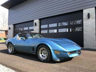 for sale at auction: 1980 chevrolet corvette in carlisle, pennsylvania