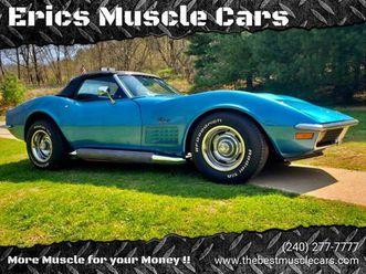 for-sale-1970-chevrolet-corvette-in-clarksburg-maryland