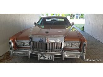 cadillac eldorado biarriz coupé 1977 - vaihtoauto - nettiauto