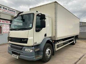 2013 daf trucks lf fa lf55, 18000kg, tail lift, sleeper cab na diesel manual
