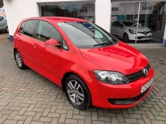used 2012 volkswagen golf plus tsi se hatchback 59,000 miles in red for sale | carsite
