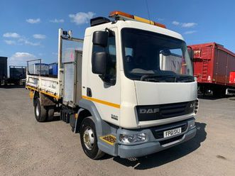 2011 daf lf45.160 4x2 tipper lorry c/w swing crane for sale in down for €1 on donedeal