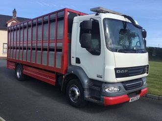 daf cattle lorry for sale in armagh for €1 on donedeal