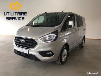 ford custom 300 l1h1 130cv limited cabine approfondie 5 places neuf