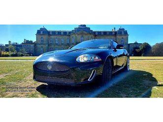 lhd jaguar xkr 5.0 supercharged 510bhp, convertible, automatic, left hand drive