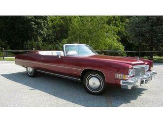 suche cadillac eldorado cabrio bis bj79 bis 11000,- euro mit tüv.