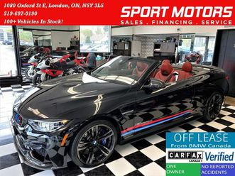 used 2018 bmw m4 m4 cabriolet+m exhaust+red leather+accident free