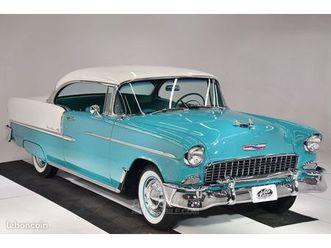 chevrolet bel air 150/210 1955 - v8 265ci/165ch - boite auto