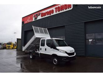 iveco daily 35-160 double cabine benne 6 places