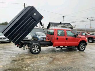 ford f-350 4x4 benne basculante emondeur dompeur elagueur 29995$   cars & trucks   sherbro