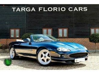 1998 jaguar xkr 4.0 paramount performance supercharged v8 auto convertible petro