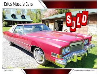 for sale: 1974 cadillac eldorado in clarksburg, maryland