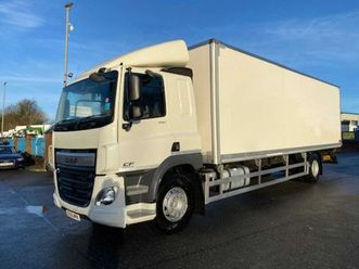 2015 daf cf 250 euro 6 18ton box or chassis cab for sale in armagh for €1 on donedeal