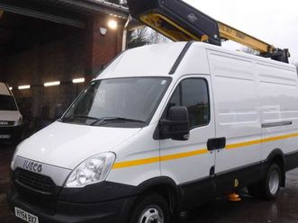 iveco daily, 2014 50c15 mwb cherry picker for sale in down for £19,500 on donedeal