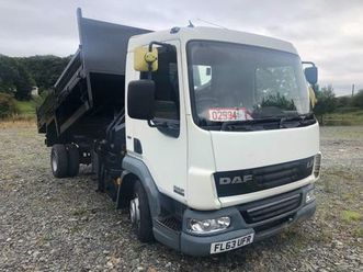 2013 daf 45/160 7.5t tipper crane for sale in down for £1 on donedeal