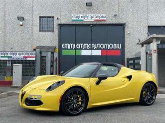 alfa romeo 4c spider **6.600 km!!** pack luxury scarico 18/19!!