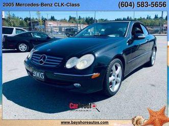 2005-mercedes-benz-clk-class-2dr-cabriolet-3-2l