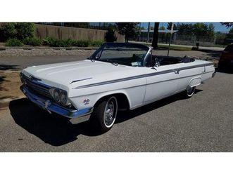 1962 chevrolet impala super sport convertible
