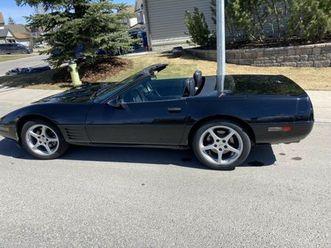 40th-anniversary-convertible-corvette-classic-cars-calgary-kijiji