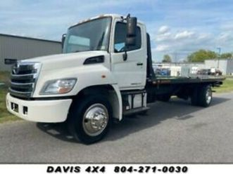 2013-hino-268-rollback-flat-bed-tow-truck