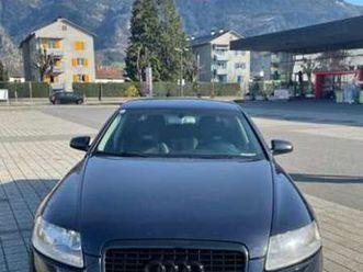 audi a6 limousine in blau als gebrauchtwagen in bregenz für € 4.499,-