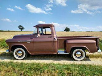 chevrolet pickup 3100 task force serie 1956