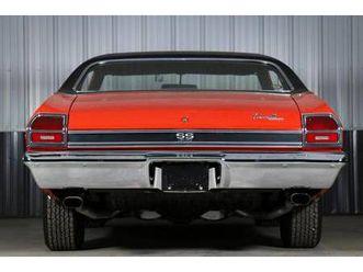 1969 chevrolet chevelle ss 396 (46k-mile survivor)
