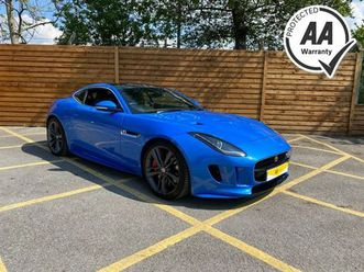 2016 jaguar f-type 3.0 v6 s/c british design edition coupe - £41,475
