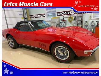 for sale: 1968 chevrolet corvette in clarksburg, maryland
