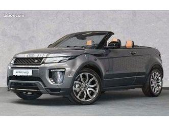 land rover range rover evoque cabriolet td4 hse dynamic 180ch