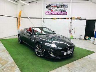 2012 jaguar xkr 5.0 supercharged 2dr auto convertible petrol automatic