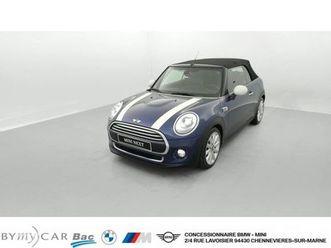 mini cabriolet cooper 136 ch bva6 finition exquisite