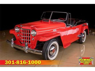 for sale: 1950 willys jeepster in rockville, maryland