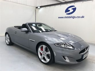 5.0 xkr 2d 510 bhp low mileage convertible