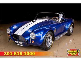 for sale: 1965 superformance cobra in rockville, maryland