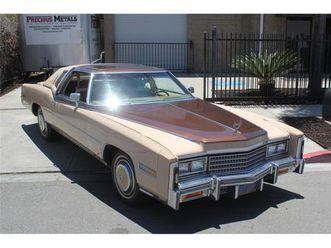 for sale: 1978 cadillac eldorado biarritz in san diego, california