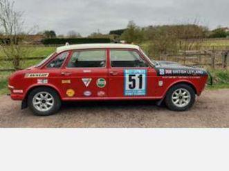 1966 morris 1800 mk i landcrab rally replica signed by the original drives!