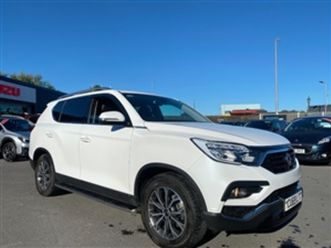 used-2019-ssangyong-rexton-2-2-ice-5dr-auto-3-5-tonne-tow-estate-11-521-miles-in-white-f