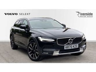 volvo v90 cross country t5 awd cross country plus (sunroof,360 camera,xenium,intellisafe,w