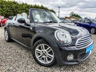 used 2011 mini hatch convertible 97,779 miles in black for sale | carsite