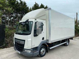 2016 daf lf45,150 grp box tail-lift 3 seat 7.5 ton euro-6 horsebox ? 64,000 mile
