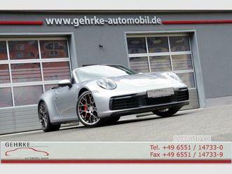 porsche-992-cabriolet-3-0-carrera-2s-pdk-argent-d'occasion-moteur-essence-et-boite-automa