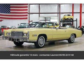500ci v8 cabriolet 1975 prix tout compris