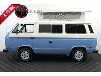 for-sale-1983-volkswagen-vanagon-in-statesville-north-carolina
