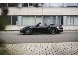 porsche 911/992 turbo s cabrio -steuer- 50km-burmester