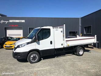 (en stock) iveco daily 35c16 benne (3,20m)/ coffre (neuf)