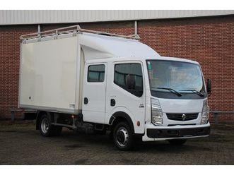 renault maxity 2.5 dci 130 pk dubbel cabine, bakwagen, elektrisch pakket, dubbel lucht, im
