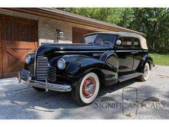 1940 buick limited limited phaeton 1 of 240 made fresh restoration