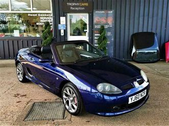 mgf mgtf le - stunning condition!, style mirrors, twisted pepper wheels, 1yr rac
